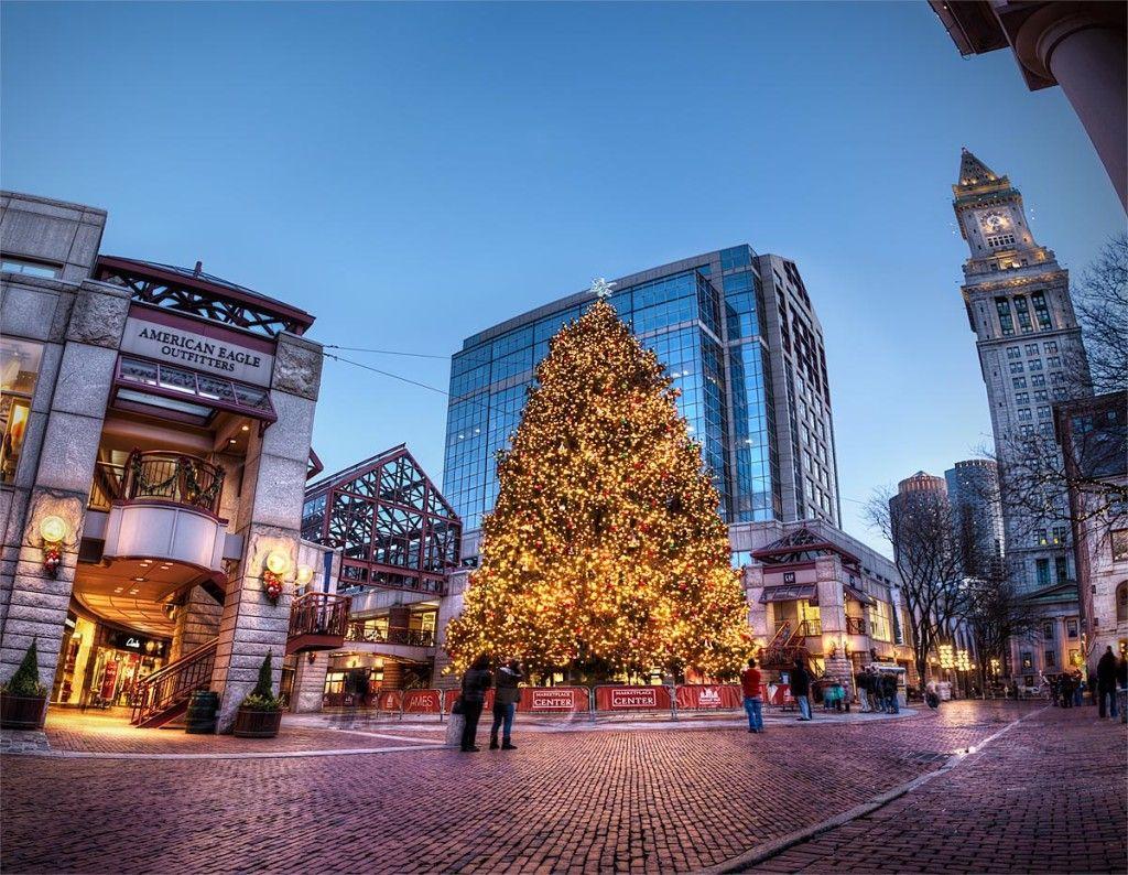 Christmas Tree at Boston City, 2017 Christmas in boston