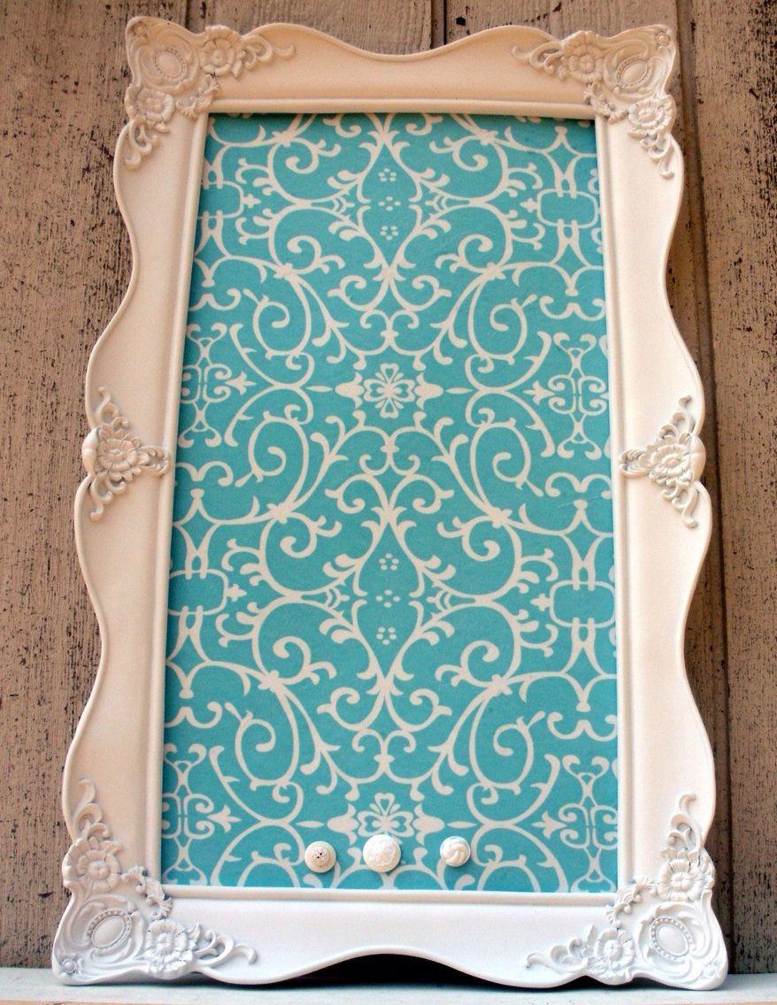 tiffany blue home decor Diy magnetic makeup