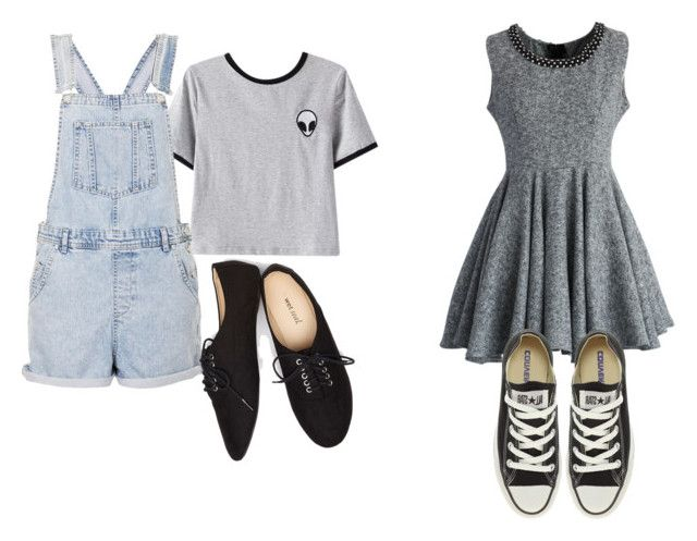 """Senza titolo #840"" by itsberlin ❤ liked on Polyvore featuring мода, Chicnova Fashion, Topshop, Wet Seal, Chicwish и Converse"
