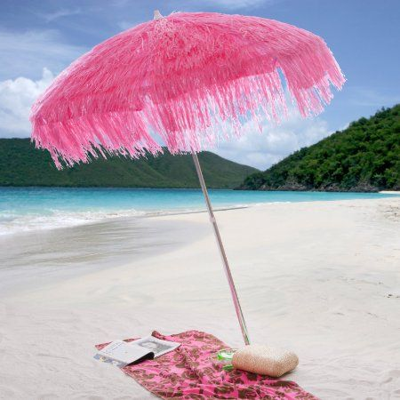 Palapa Pink Whiskey Beach Umbrella