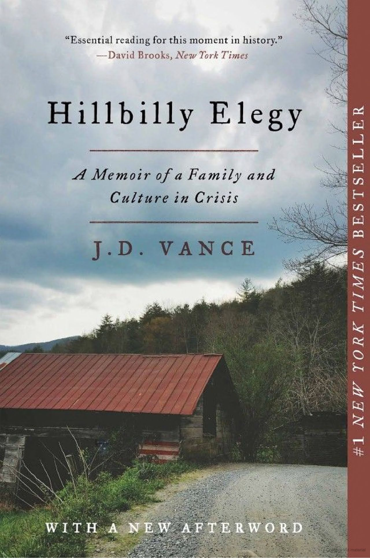 Hillbilly Elegy A Memoir Of A Family And Culture In Crisis J D Vance Google Books With Images Hillbilly Elegy Elegy Memoirs