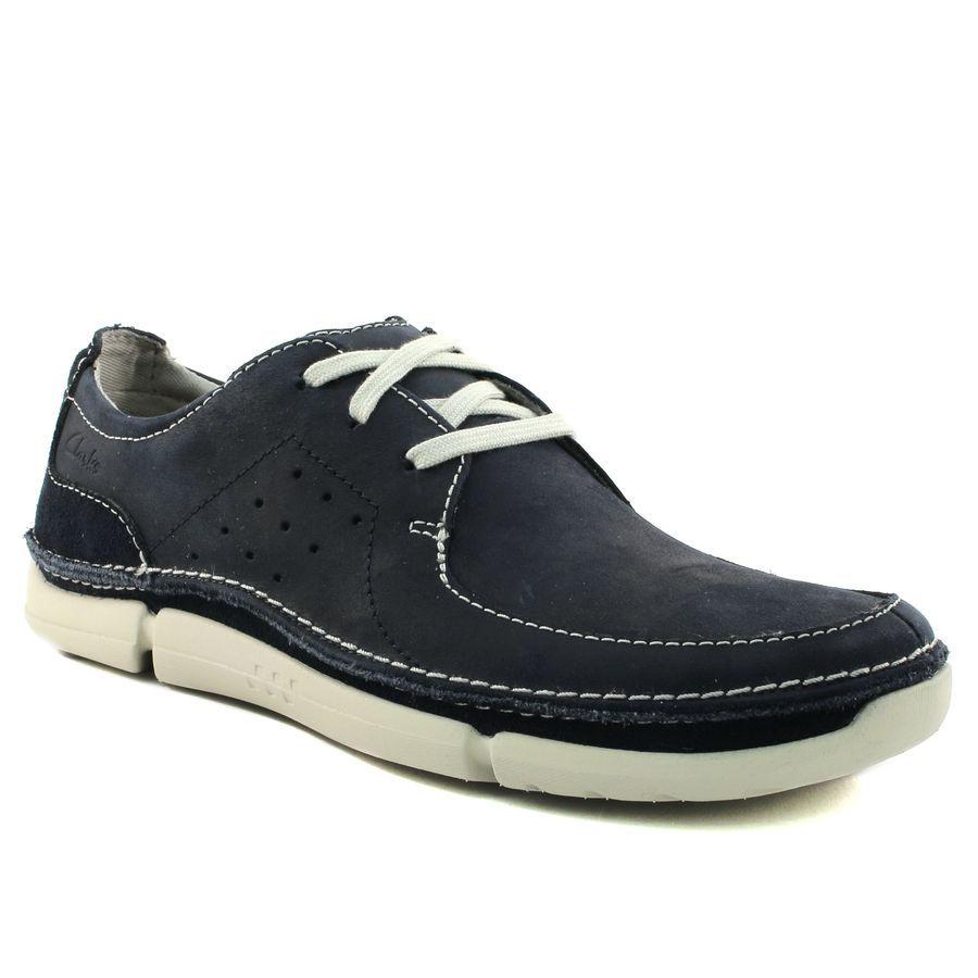 Chaussures Clarks bleues Casual garçon eOs4mbyL