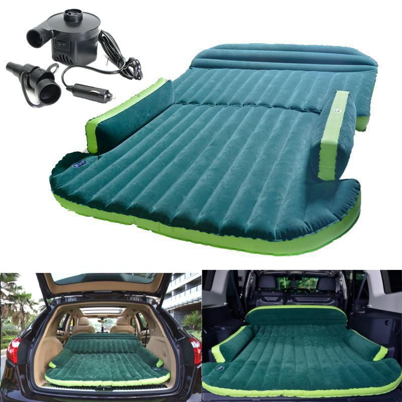 Heavy Duty Car Travel Air Inflatable Mattress Sleeping Bed SUV Back Seat Mat