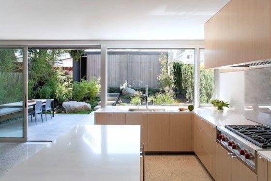 Planos De Casa De Dos Pisos Moderna Modern Kitchen Design House Design Home