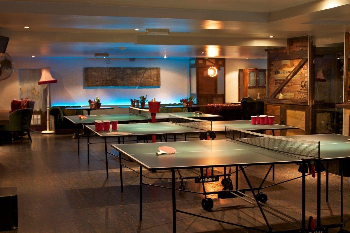 Ping Pong Bars In London Where To Play Ping Pong Designmynight Bars For Home Ping Pong Bar London Bars