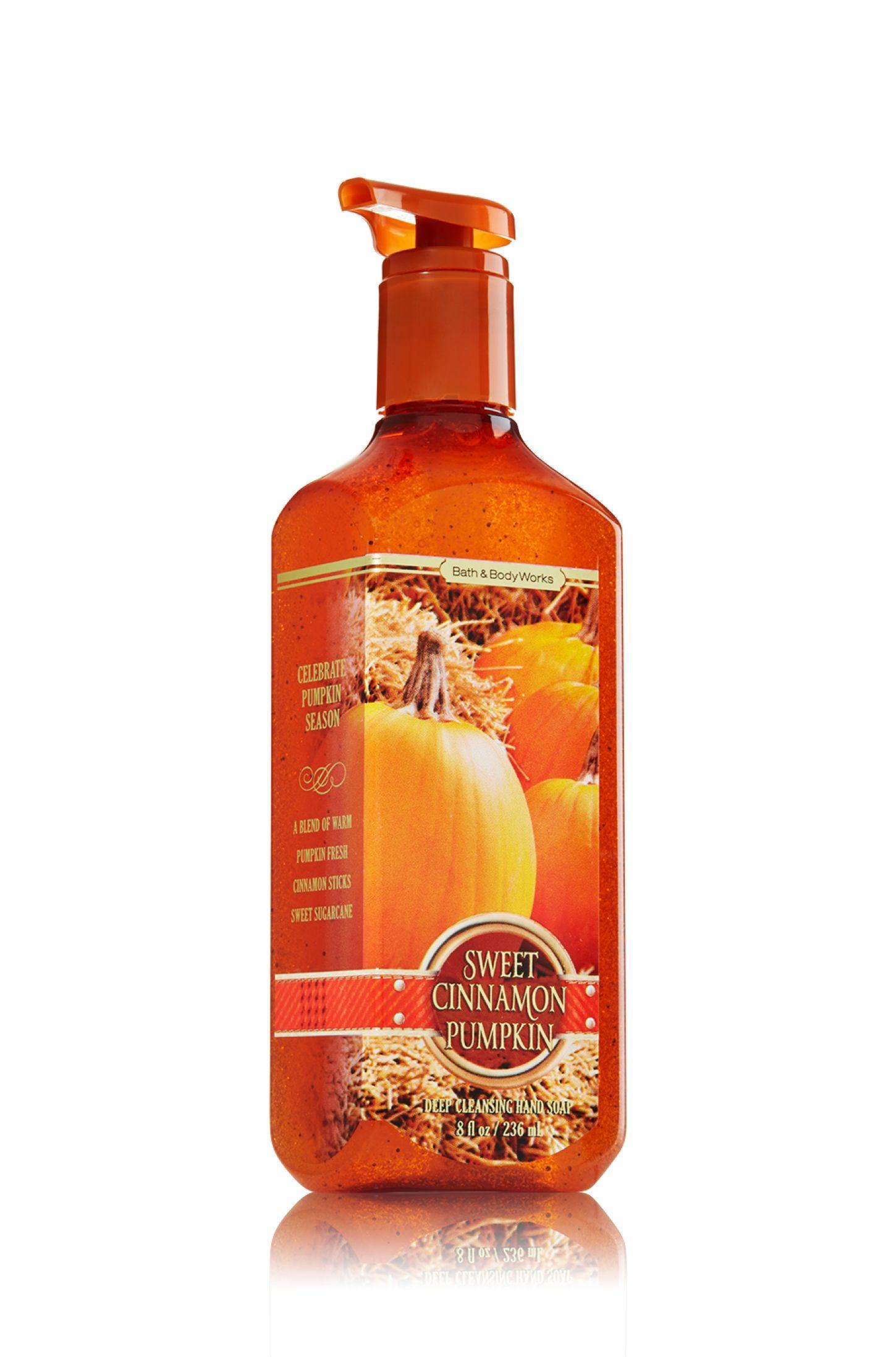 Sweet Cinnamon Pumpkin Deep Cleansing Hand Soap Soap Sanitizer