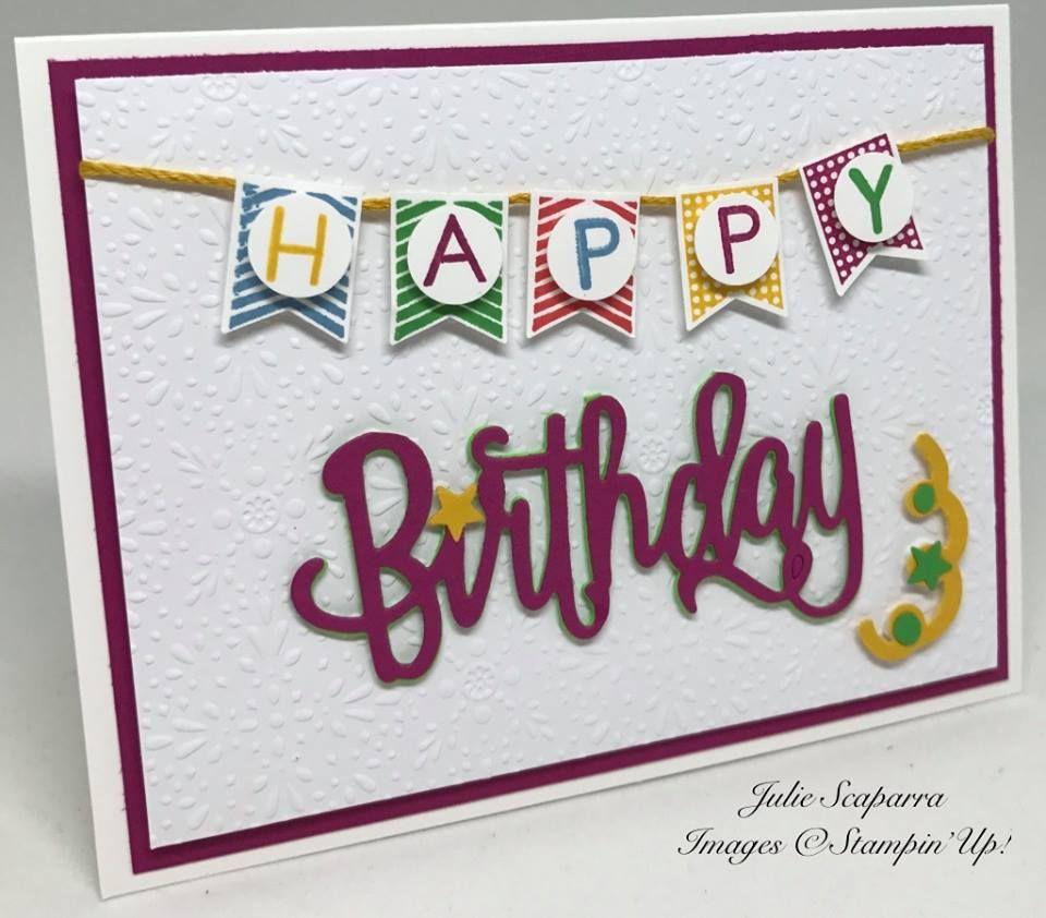 Pin by Linda Bareis on SU - Happy Birthday Die | Pinterest ...