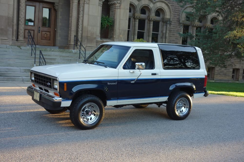1987 Ford Bronco Ii 1987 Ford Bronco Ii 4x4 Low Mileage Automatic W Ice Cold Ac Show Or Drive Ford Bronco Ford Bronco Ii Bronco Ii