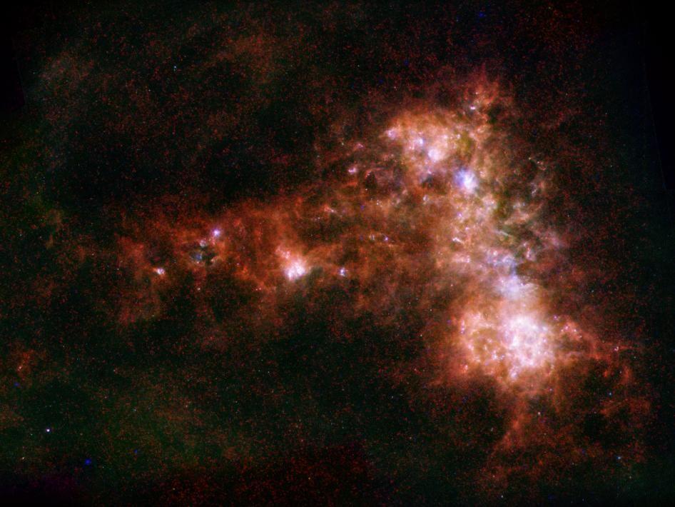 Star Formation in a Dwarf Galaxy | Star formation, Astronomy