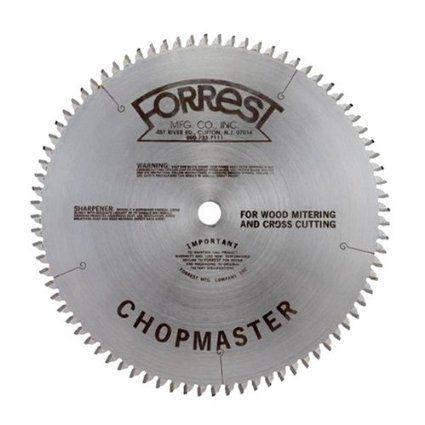 Forrest Cm12806115 Chopmaster 12 Inch 80 Tooth Atb Miter Saw Blade With 1 Inch Arbor Amazon Com Circular Saw Blades Saw Blade Radial Saw