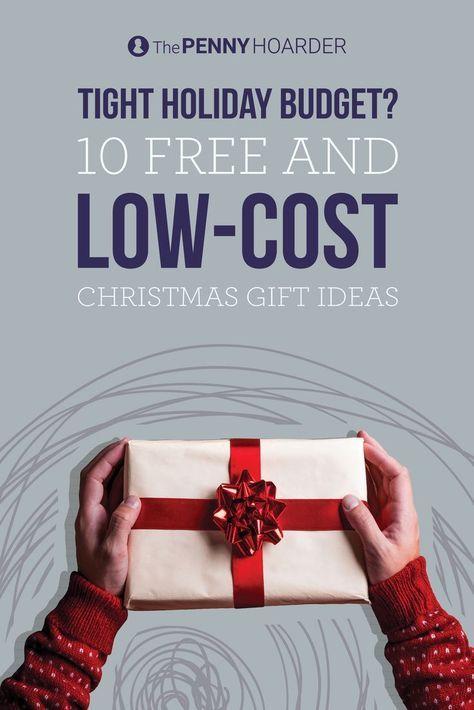 save money on christmas presents 10 free and low cost gift ideas money saving tips pinterest navidad regalos de navidad and presupuesto