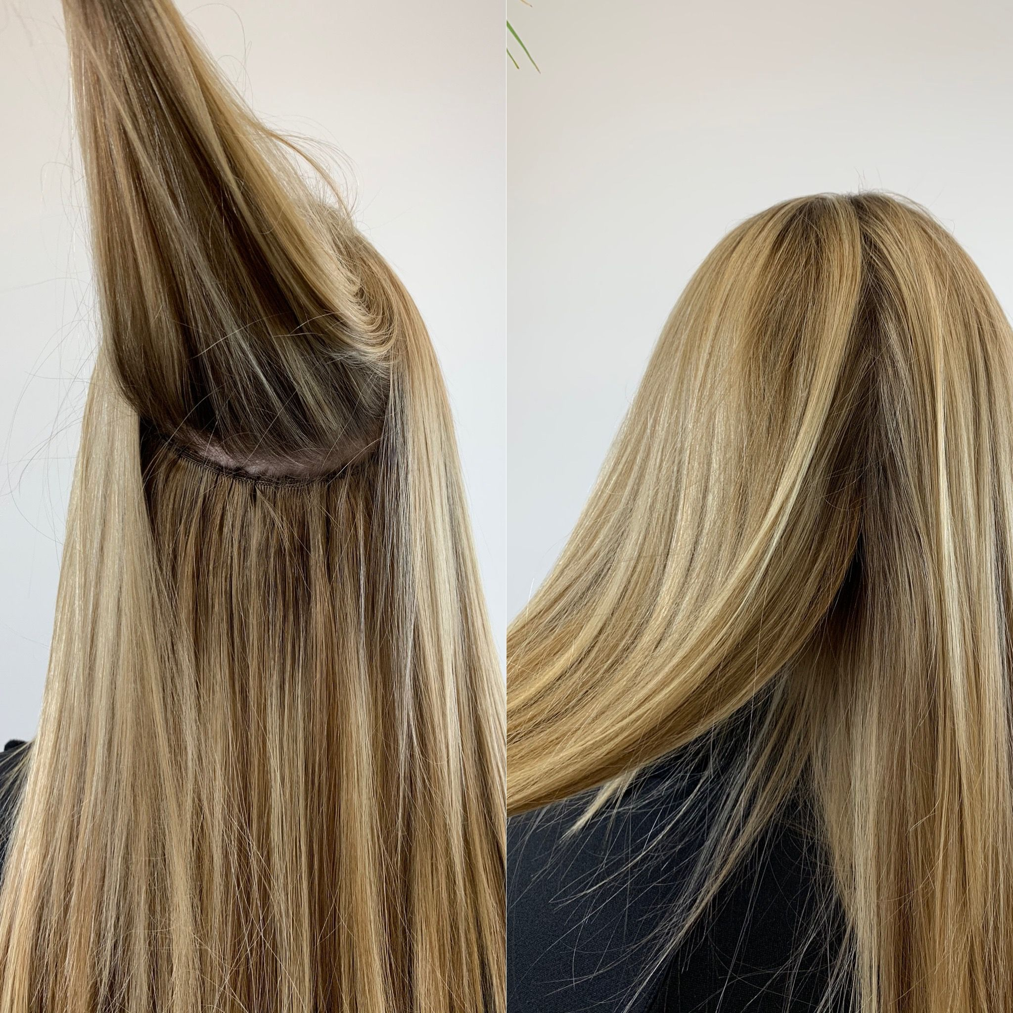 Seamless Blend Of Nbr Hand Tied Extensions Organic Hair Salon Hair Extensions Near Me Organic Hair