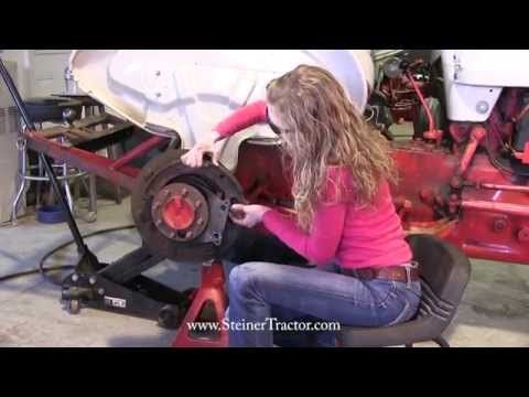 Replacing Rear Axle Seals 1948 Ford 8n 1 2 Youtube