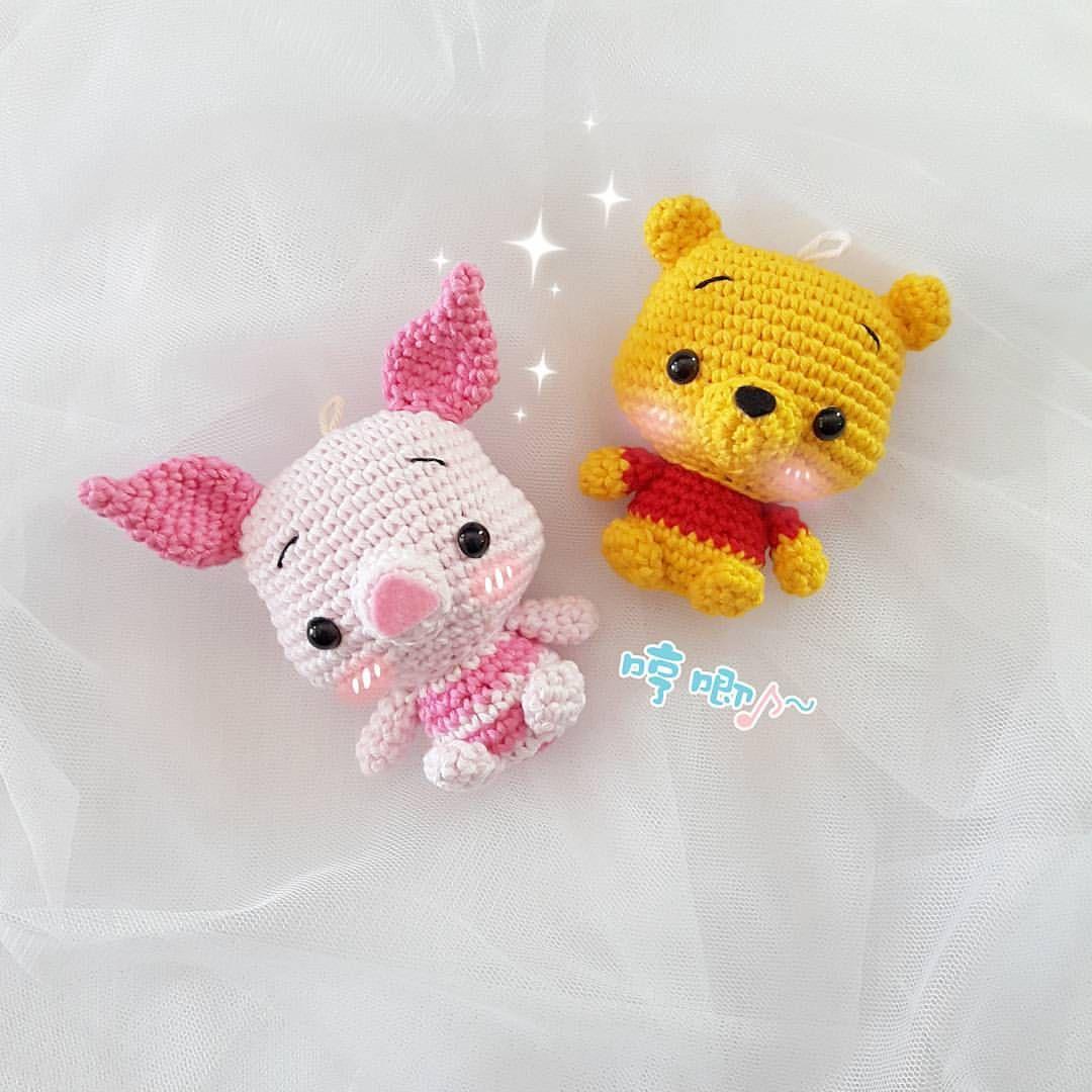 Uncinetto amigurumi: Winnie the Pooh portachiavi - Keychain ...   1080x1080