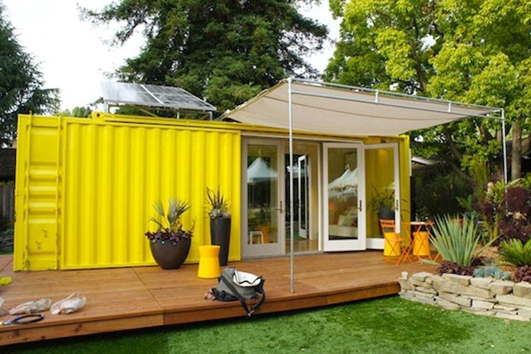 Houses Made Out Of Containers 6 super cool tiny houses made from shipping containers | back yard