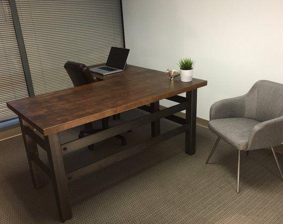 The Brooklyn Executive L Shape Desk Modern Office Design