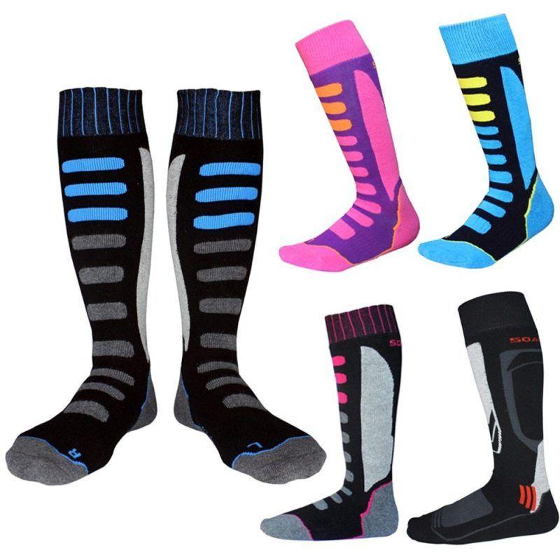 Winter Warm Men Thermal Ski Socks Thick Cotton Sports Snowboard Skiing/&Hiking