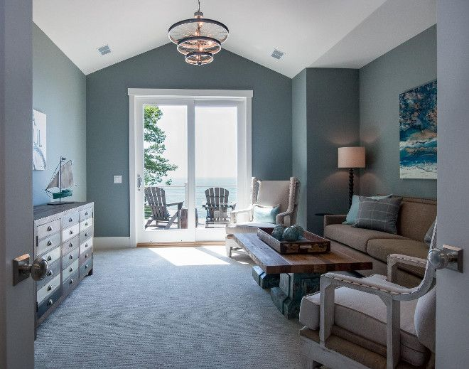Wall paint color is benjamin moore hc 164 puritan gray paint colour beach houses for sale - Beach house paint colors interior ...