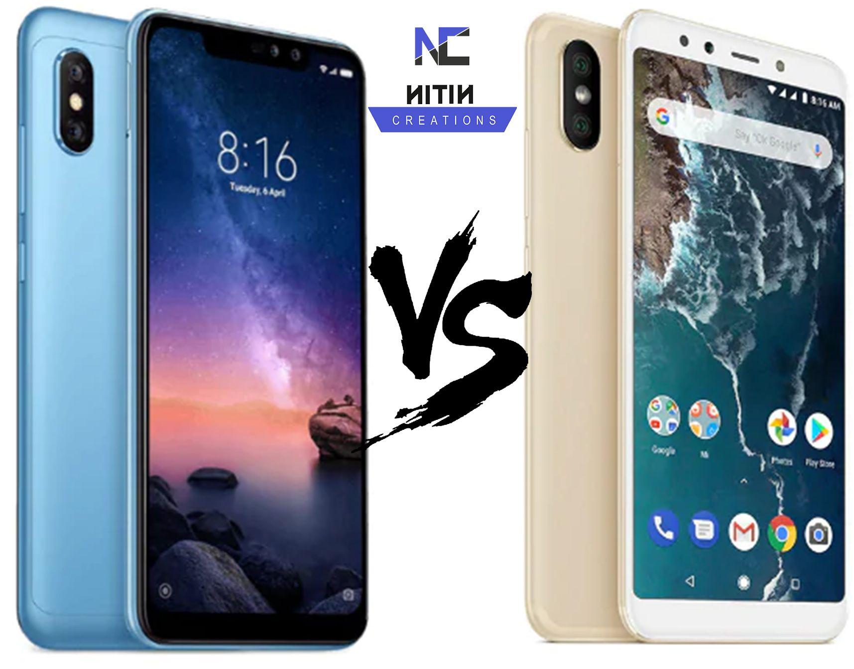 Xiaomi Redmi Note 6 Pro Vs Mi A2 Specifications Price Comparison Xiaomi Mobile Computing Price Comparison