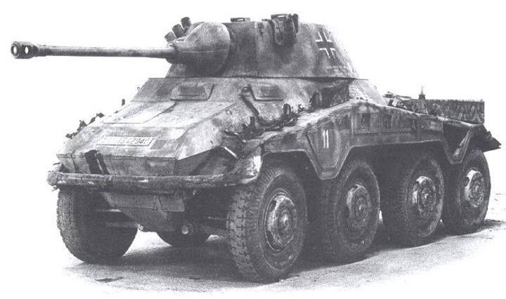 "Sdkfz 234/2 ""Puma"" armed in 5 cm KwK 39 L/60 gun"