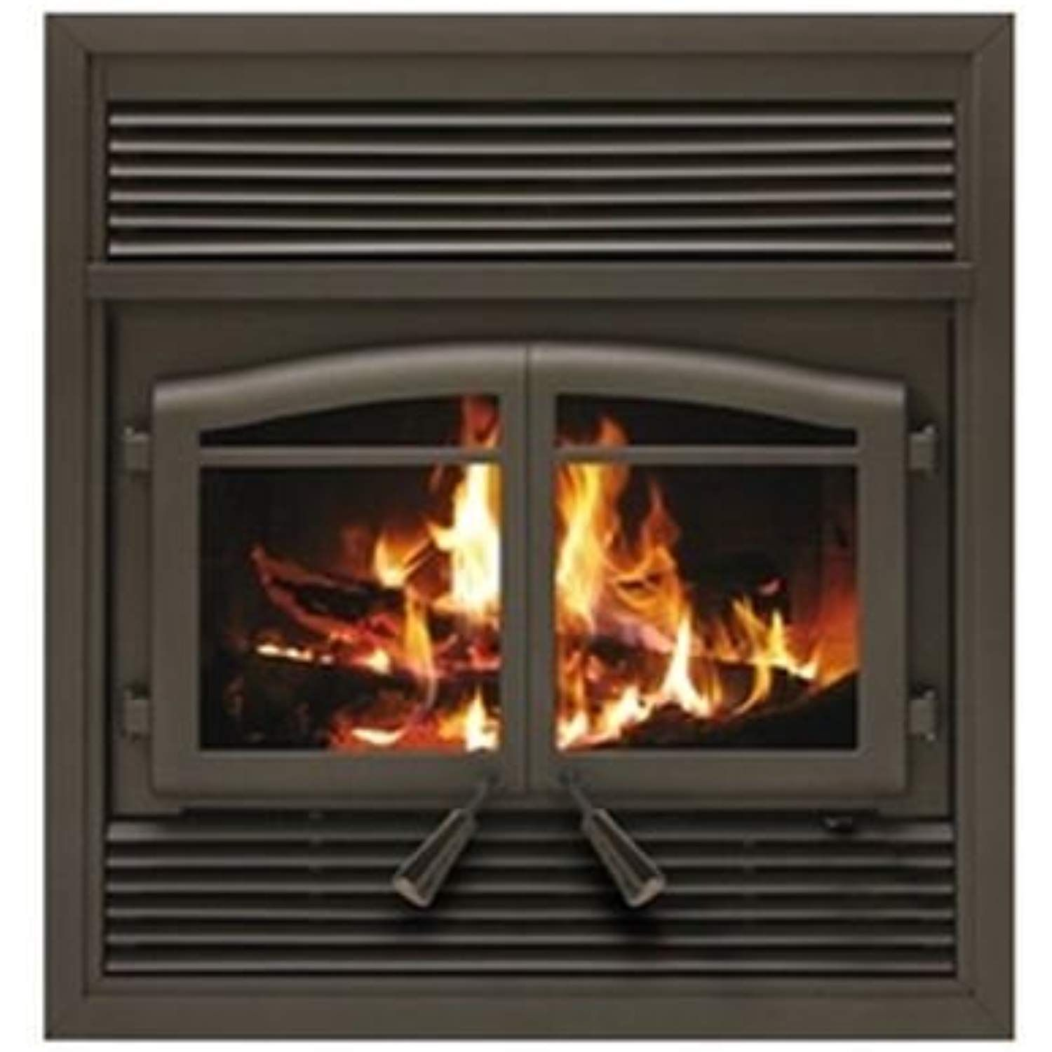 Copperfield Flame Monaco Epa Zc Fireplace With Black Louver Kit Click On The Image For Additional Zero Clearance Fireplace Wood Burning Fireplace Fireplace