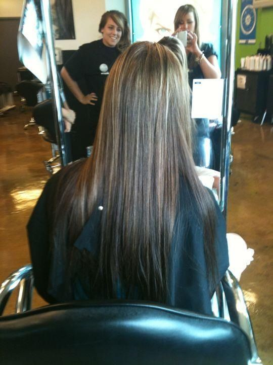 Full Color And Highlight With Images Hair Beauty Long