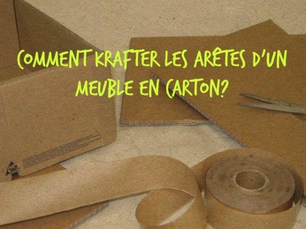 Cartonrecup Apprendre A Fabriquer Des Meubles En Carton Meuble En Carton Carton Meubles En Carton