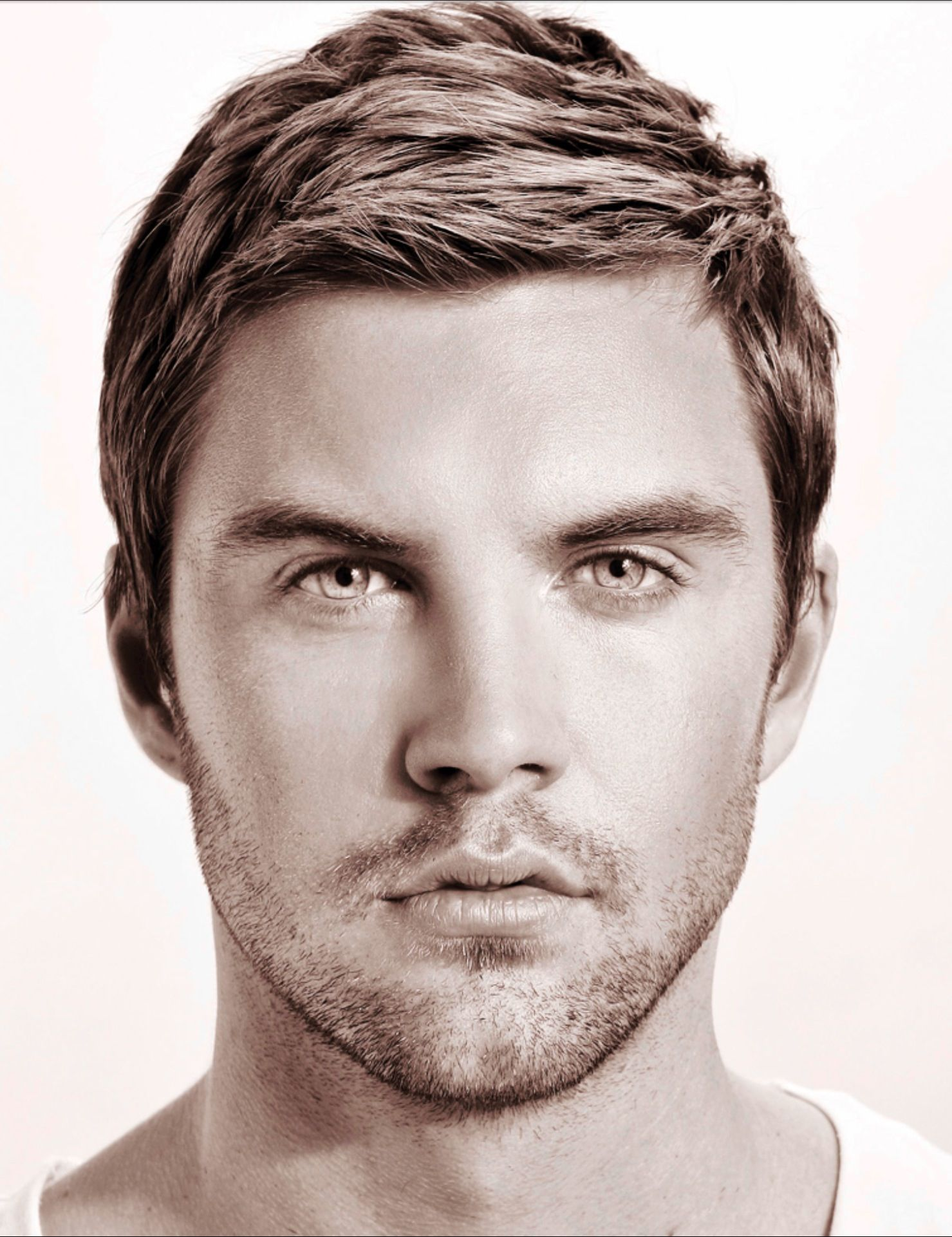 Haircuts for round faces men pin by deni on menus hair  pinterest
