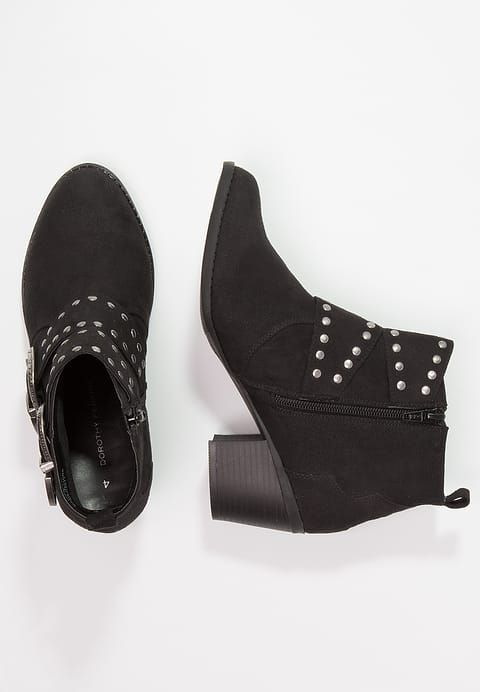 Dorothy Perkins ZACK - Boots à talons noir kD9zoc2fS
