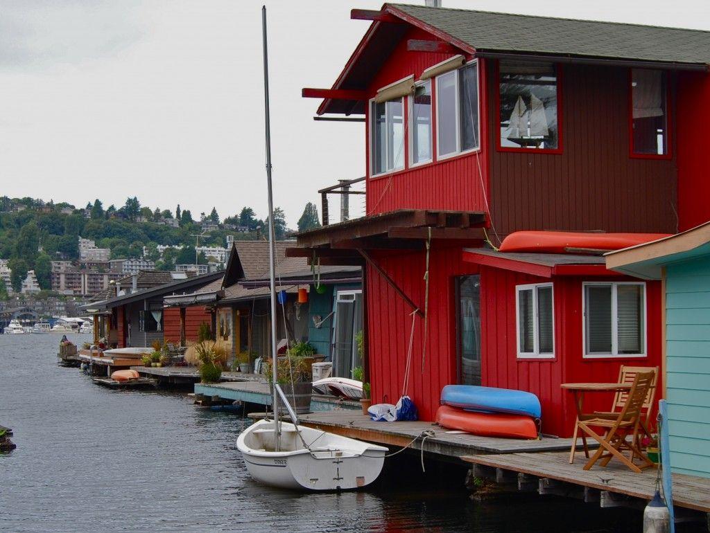 Seattle Houseboats Floating House House Boat Houseboat