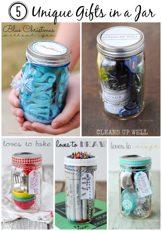 5 unique gifts in a jar that are perfect for the holidays for Homemade gifts in a jar for men