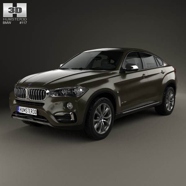 Bmw X6 Price Used: BMW X6 (F16) 2014 3d Model From Humster3d.com. Price: $75