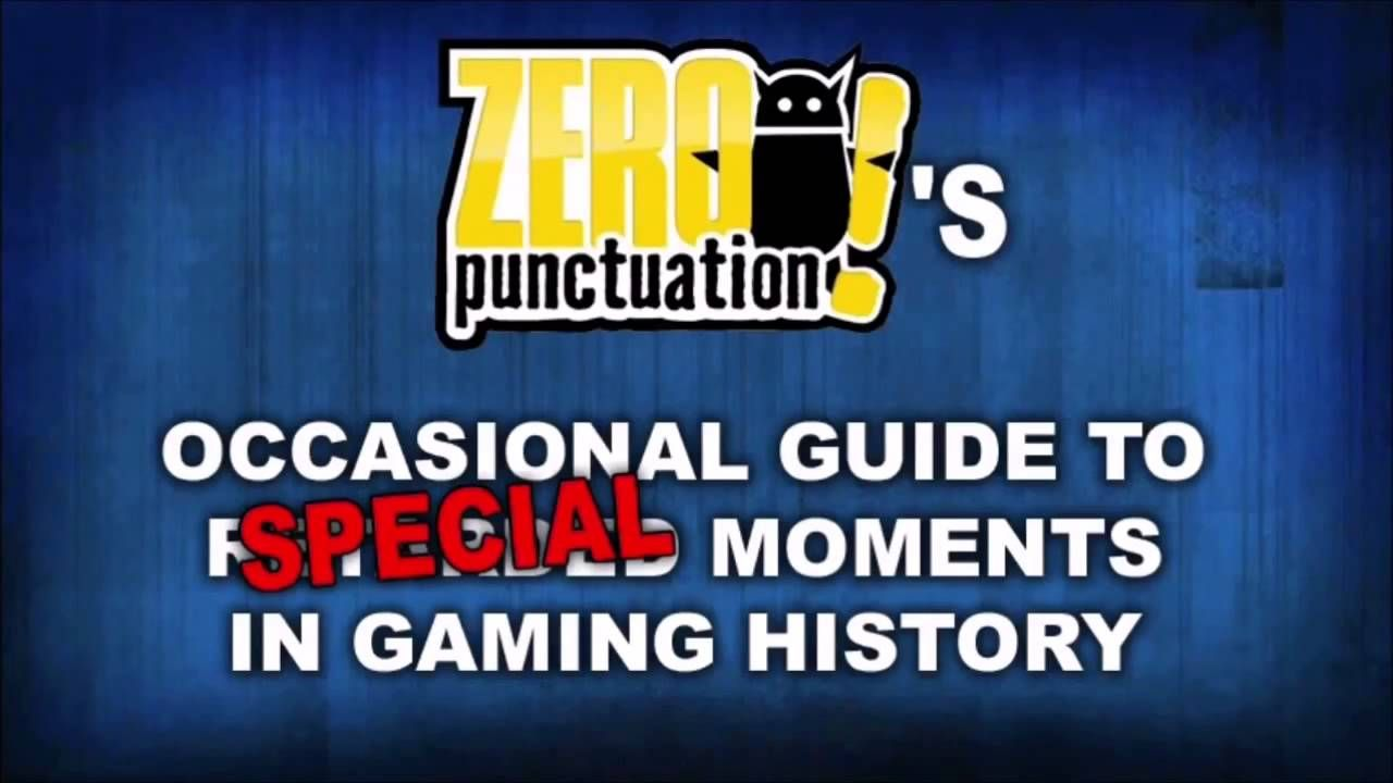 Zero Punctuation Yahtzees Industry Never Learns Anything Jingle