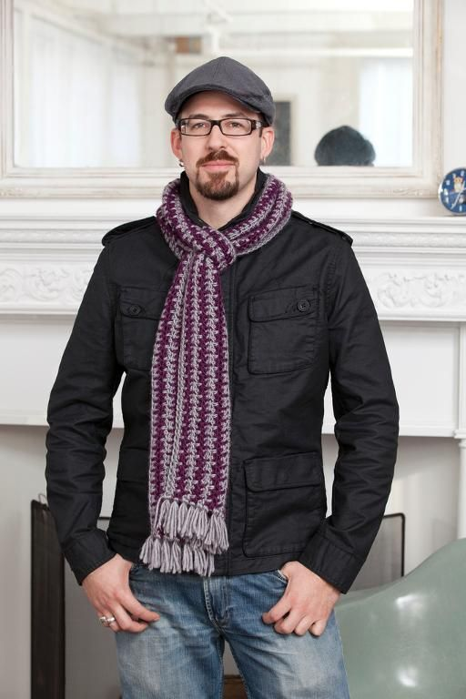 Crochet Finds November 25 2014 Mens Crochet Scarf Pattern Crochet