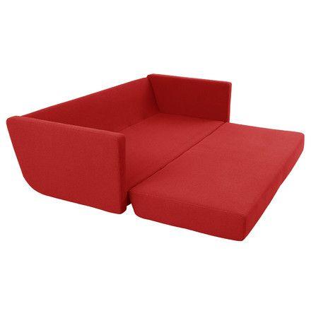 Softline Lounge 3 Part Bed Sofa Dark Grey Felt 610 Schlafsofa
