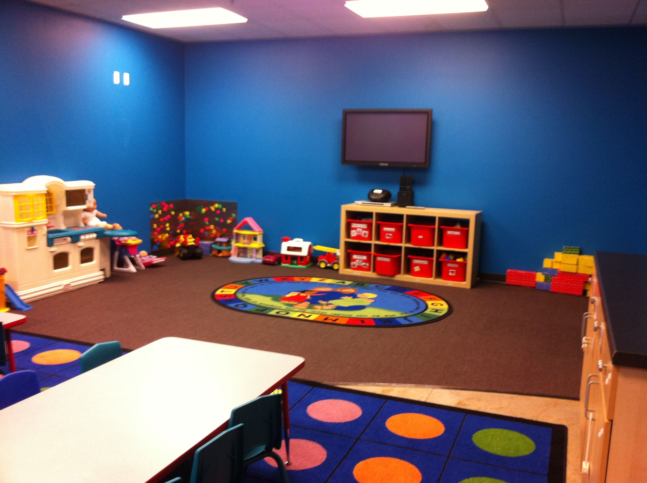 Ideas For Decoration Of Classroom For Children S Day : Sunday school classroom sensory room pinterest