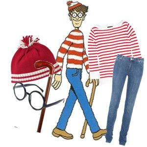 Wheres waldo costume replace jeans for skirt for wenda diy costumes wheres waldo costume replace jeans for skirt for solutioingenieria Image collections