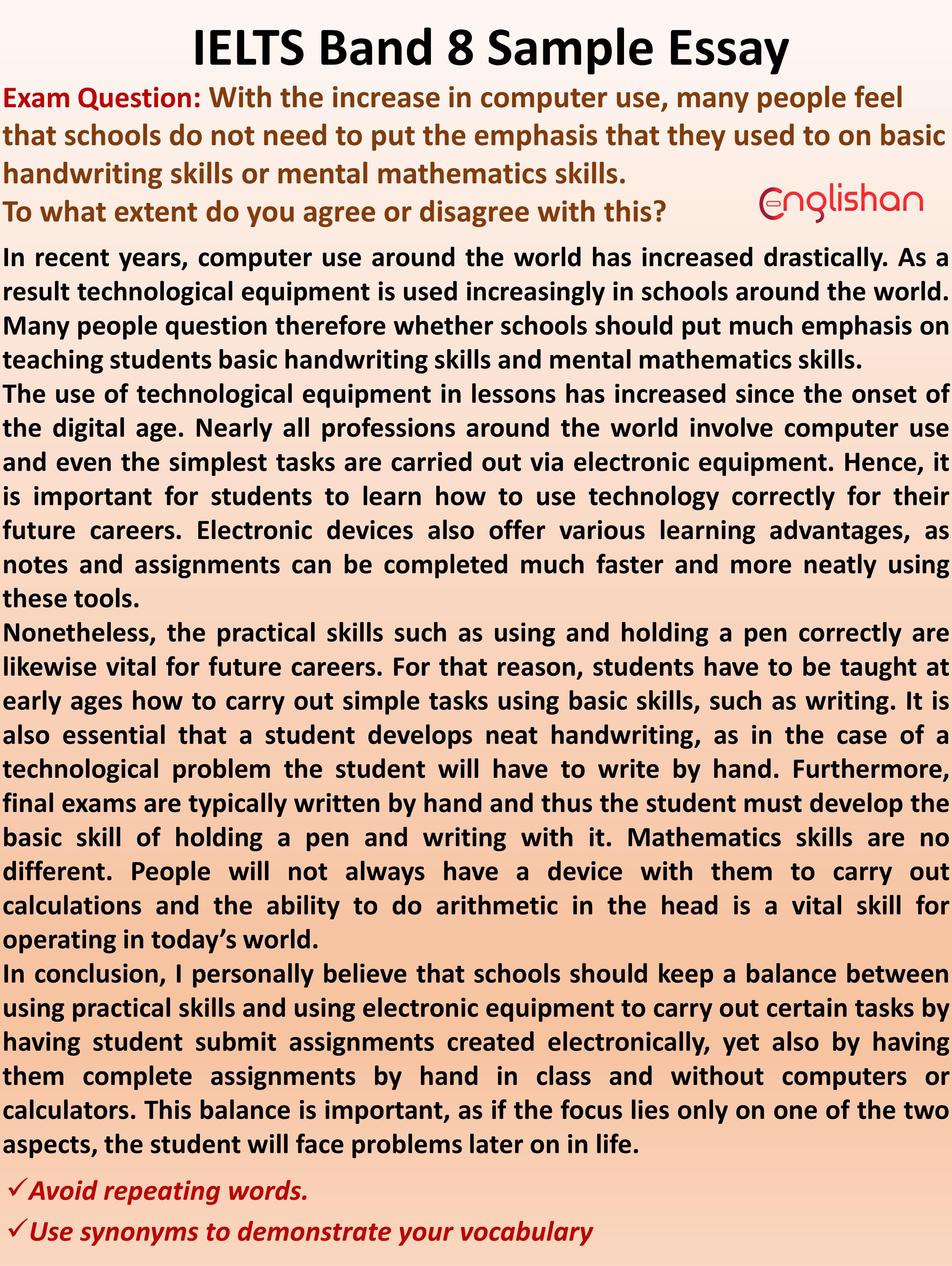 32 Ielts Essay Samples Band 8 Pdf Essay Writing Skills Persuasive Writing Examples Ielts