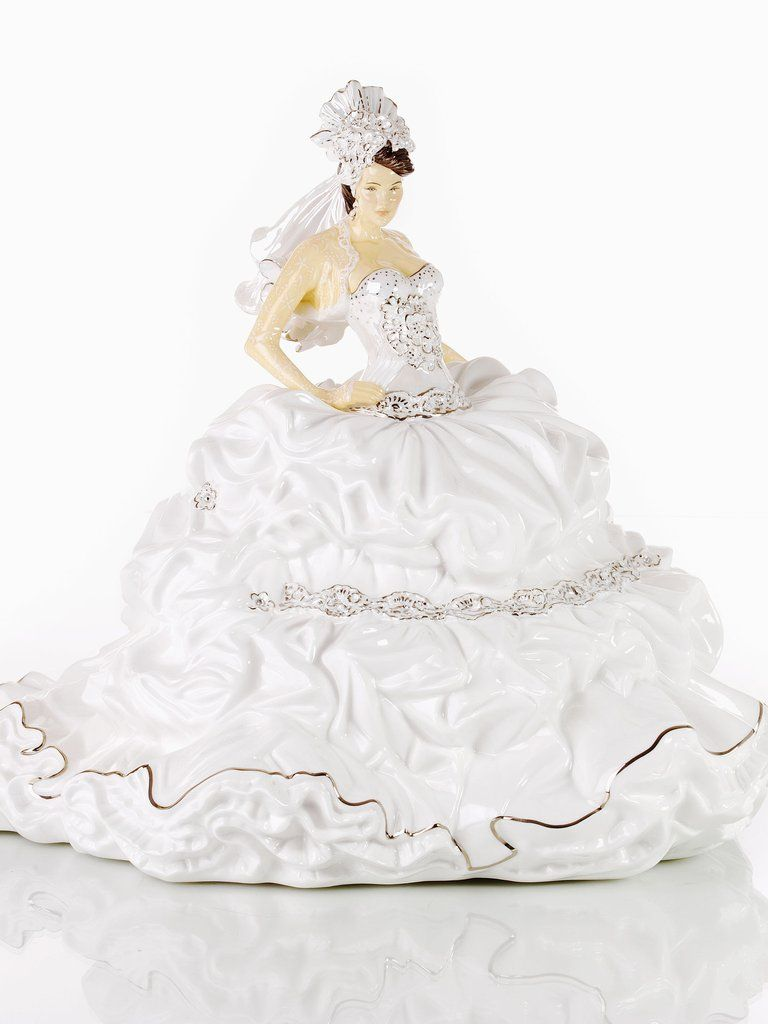 Fairytale Gypsy Bride Brunette | Bone china figurines | Pinterest ...