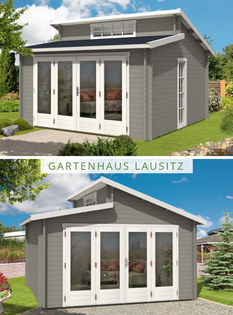 Gartenhaus Lausitz 40 Iso Mit Falttur Gartenhaus Haus Oberlicht