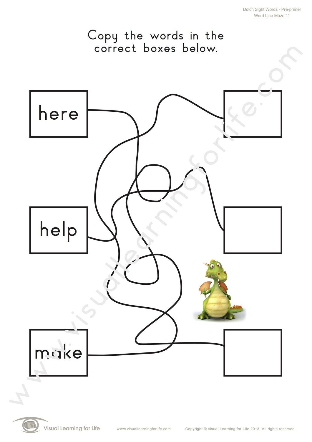 In The Word Line Maze Worksheets The Student Must