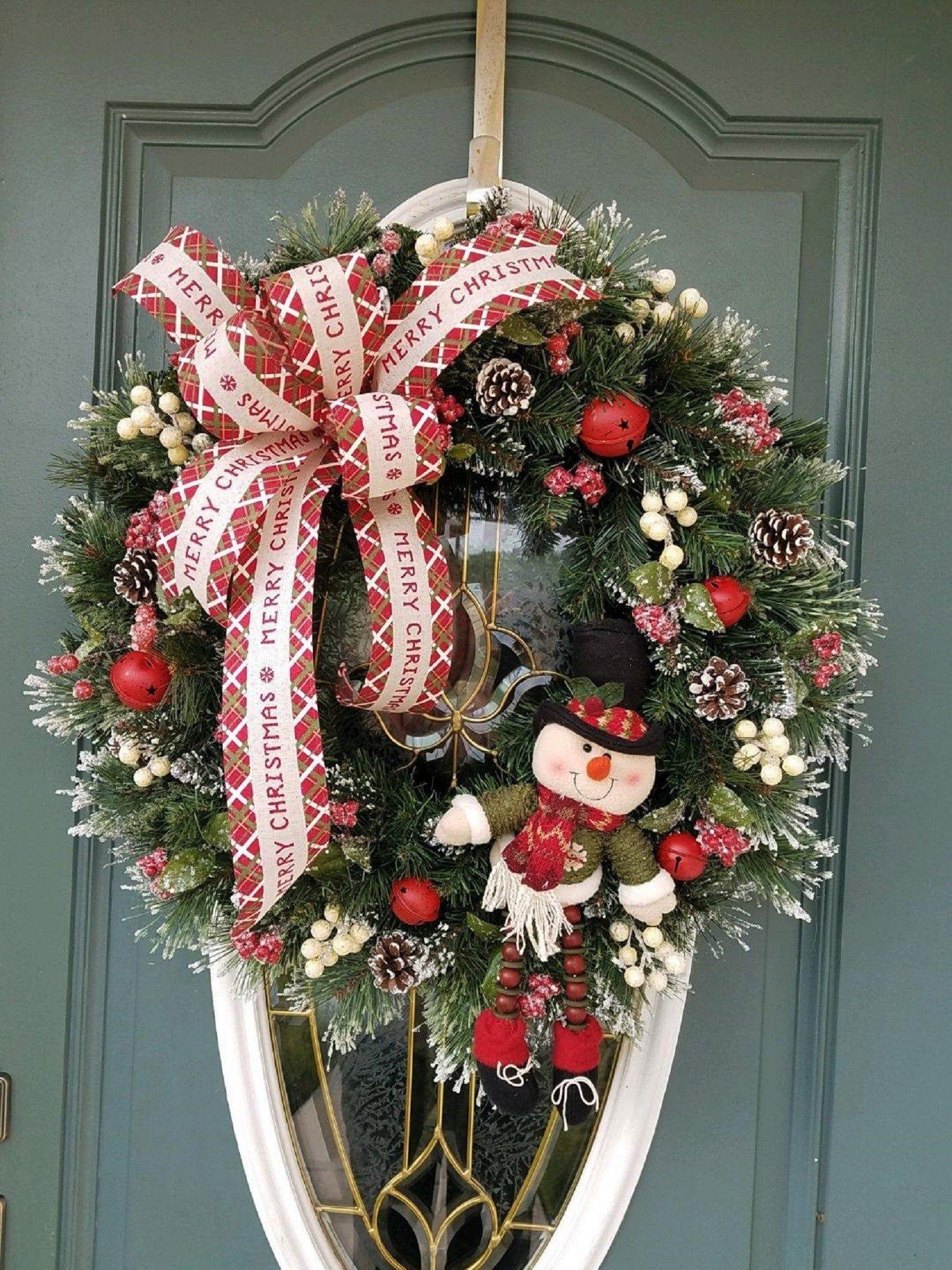Christmas Wreath / Christmas Wreath for Front Door
