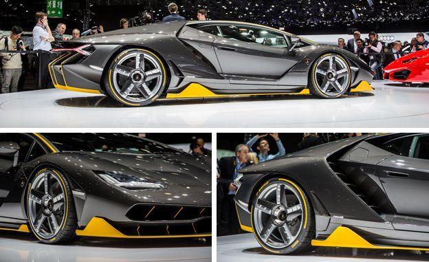 2017 Lamborghini Centenario Official Photos And Info News Car