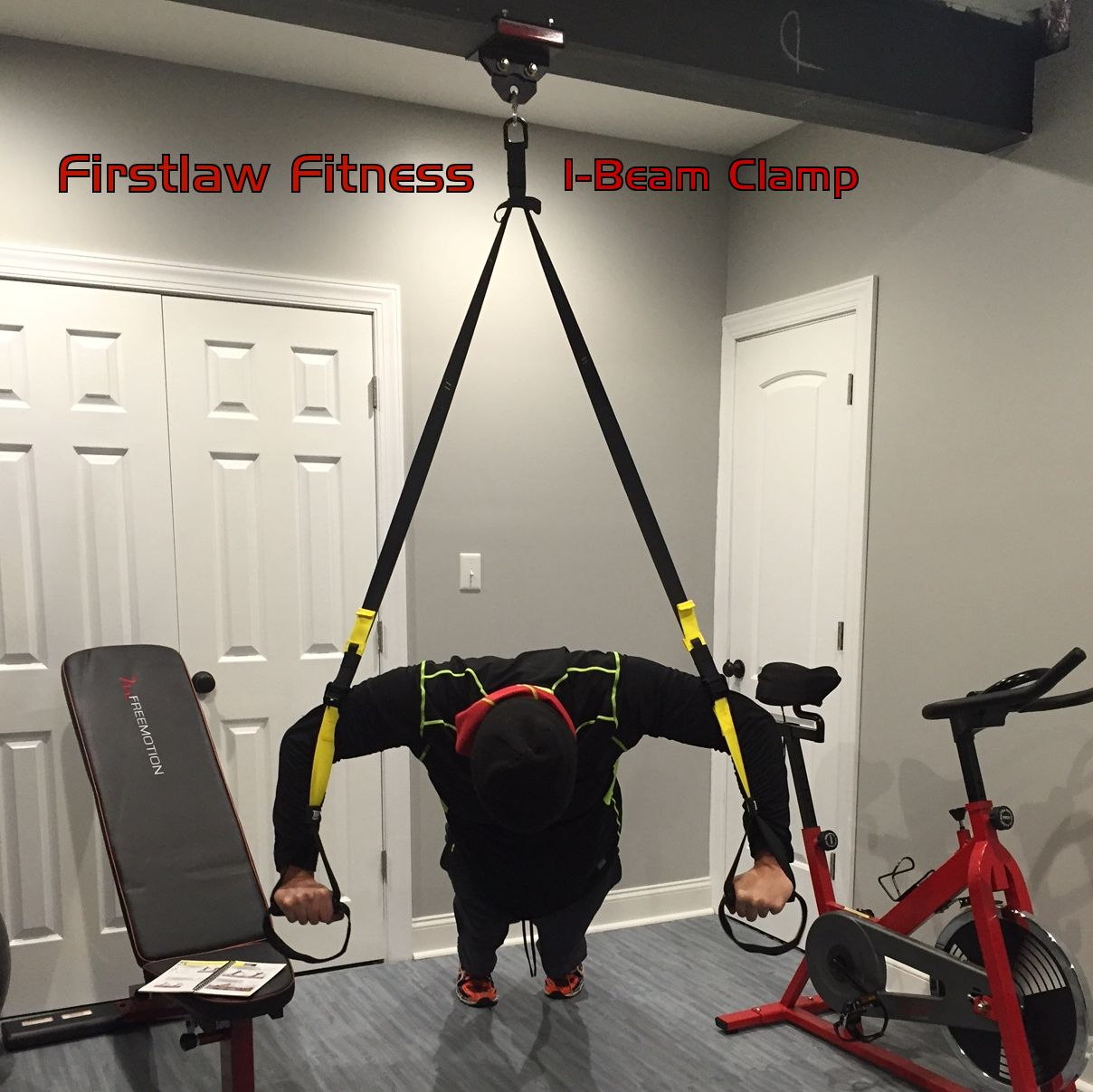The firstlaw fitness i beam clamp is strongest one you