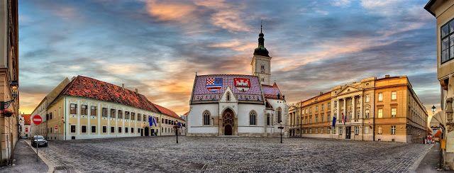 Gornji Grad Medvescak Zagreb Croatia Zagreb Croatia Zagreb Croatia