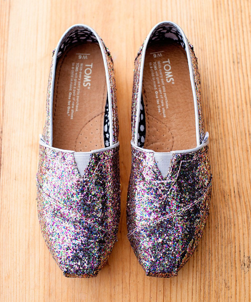 6430e836f3d Take a look at this Bright Multi Glitter Classics I bought at zulily today!