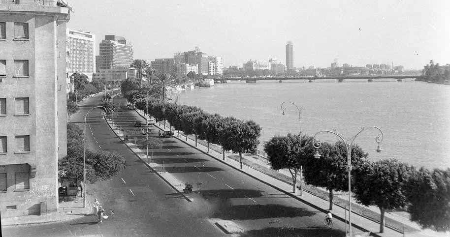 كورنيش النيل بداية الستينات الشجر دة راح فين Outdoor Snow