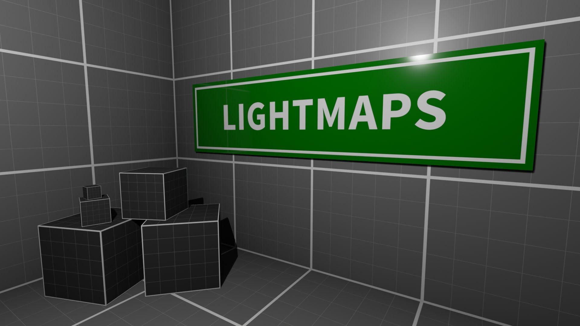 Baked Lighting And Lightmaps Maya Unreal Engine Mit Bildern