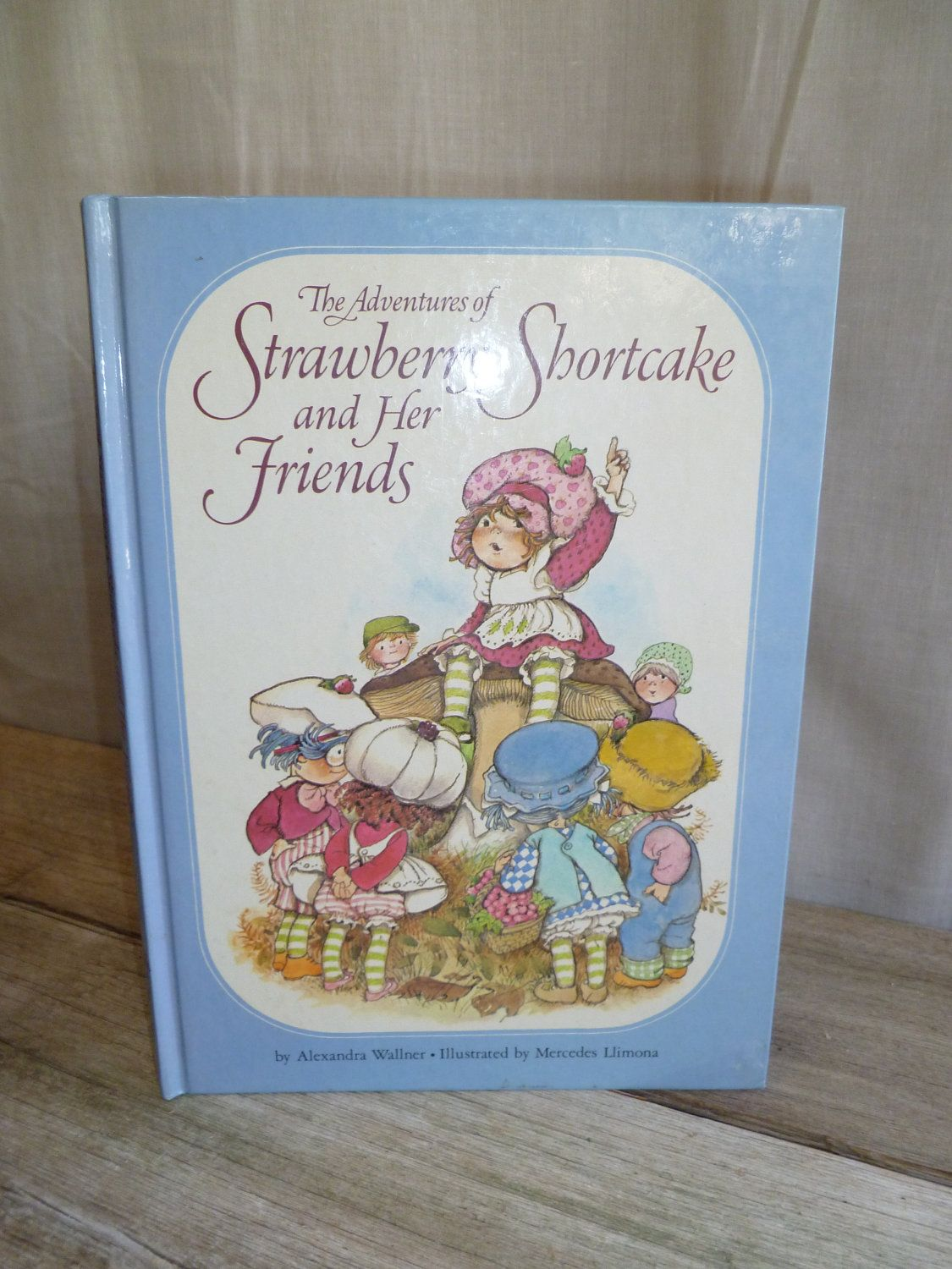 I had a Strawberry Shortcake book. I think it was this one.