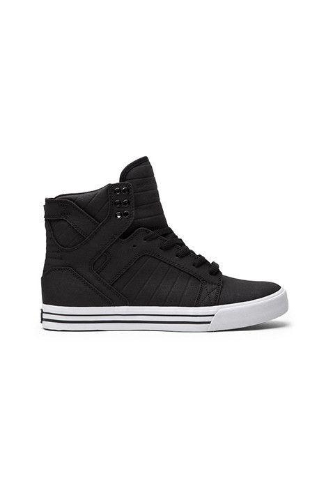 f9bbb42cde2a Supra Skytop Black White Men s Shoes